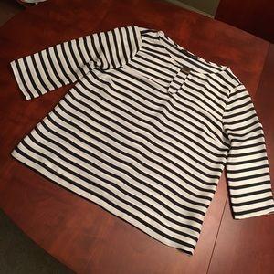 Zara 3/4 sleeve blouse.  Loose & super comfortable